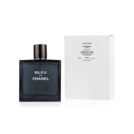 Chanel Bleu De Chanel edt 100 ml m tester тестер туалетная вода парфюмерия Шанель Блю Де Шанель, фото 2