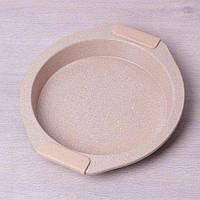 Форма для запекания с антипригарным мраморным покрытием и силиконовыми ручками 35326 см Kamille a6028