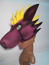 Шапка-маска з поролону Дракон