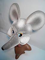 Шапка-маска из поролона Крыса