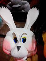 Шапка-маска из поролона Заяц