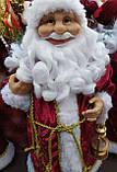 Дед Мороз красный 60 см, фото 4