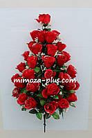 Искусственные цветы - Роза букет