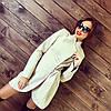 Женское кашемировое пальто в расцветках (размеры 42,44,46,48)