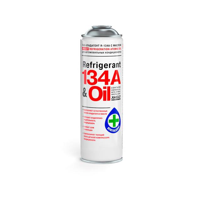 Фреон автомобильный XADO R-134a & Oil 500мл