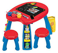 Crayola Парта со стульчиками Creativity Play Station Desk & Chair Set