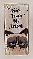 Силикон Pictures for Xiaomi Mi 5S grumpy cat