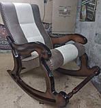"""Кресло-качалка """"Шерлок"""". Цвет каркаса и ткани можно изменять., фото 5"""