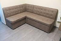 Раскладной кухонный диван со спальным местом (Кофейный)