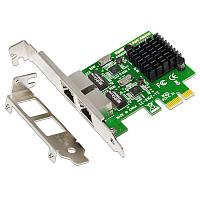 SSU 8120-T2 2 порта 1000 Мбит / с Gigabit Ethernet Сетевая карта PCI-E PCI Express RJ45 Плата расширения сетевого адаптера для настольных