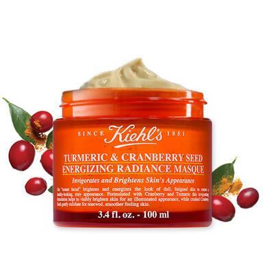 Маска з куркумою для сяйва шкіри Kiehls Turmeric & Cranberry Seed Energizing Radiance Masque