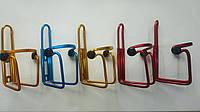 Фляга держатель велосипедный алюминиевый  флягодержатель