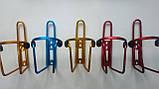 Фляга тримач велосипедний алюмінієвий флягодержатель, фото 2