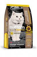 Nutram Total сухий беззерновой корм для кішок з лососем і фореллю 1.8 КГ