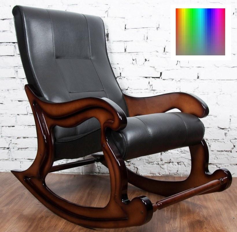 """Крісло-гойдалка """"Шерлок"""". Колір каркасу та тканини можна змінювати."""