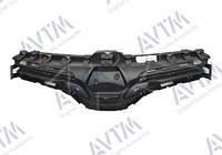 Решетка радиатора Renault Kangoo 2013- черн.без молдингов