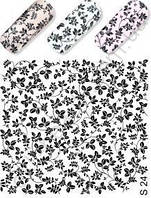 Слайдер-дизайн S 24(водные наклейки) черный