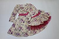 Платья на маму и доченьку, модель № 55