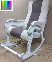 """Кресло-качалка """"Шерлок"""". Цвет каркаса и ткани можно изменять., фото 1"""