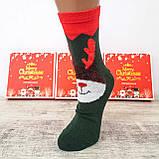 Новогодние женские носки на подарок комплект 4 пары, фото 4