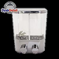 Дозатор для жидкого мыла одинарный настенный  (Д-04)