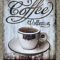 """Наклейка на стену в кофейню, кафе """"Чашка кофе на кухню"""" (лист 31см*26см) наклейки на кухню"""