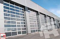 Ворота панорамные промышленные автоматические «Ryterna»