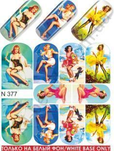 Слайдер-дизайн  N377  (водные наклейки)