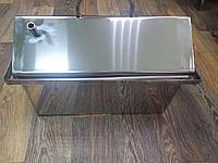 Коптильня из нержавейки Крышка домиком , толщина 1.5 мм