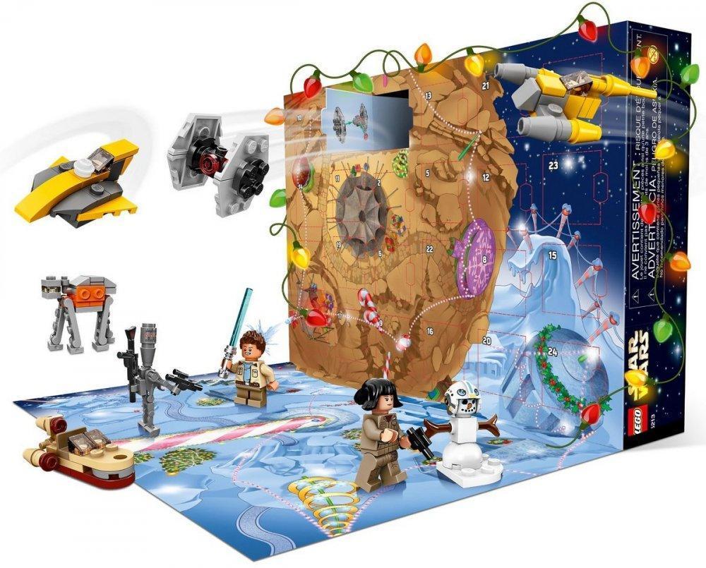 Адвент календар LEGO  Star Wars - advent Новогодний календарь Лего 75213 (адвент календарь 307 Звездные войны)