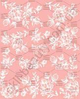 Слайдер-дизайн «Белые цветы» TW - 366 Dream Nails (водные наклейки)