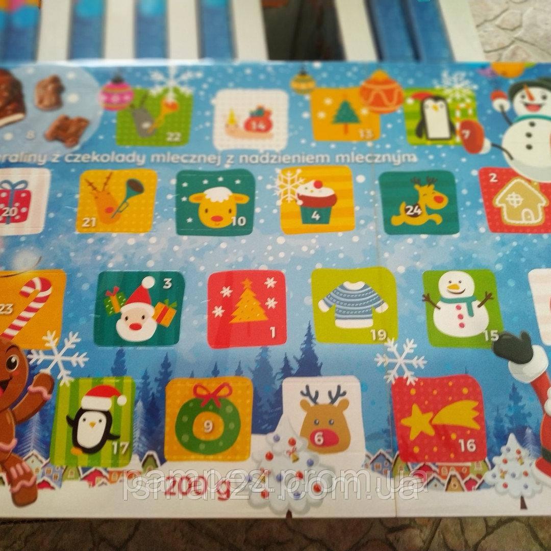 Шоколадный адвент календарь Польша 200g