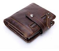 Мужской кожаный кошелек Stela Italia | Мужской бумажник из натуральной кожи