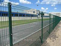 Забор Металлический Секция ограждения Стандарт Полимер (оцинкованная) 1,05м х 2,5м