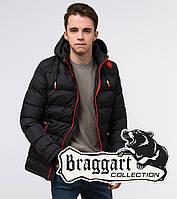Подросток 13-17 лет | Зимняя куртка Braggart Teenager 75263 черная, фото 1