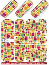 Слайдер-дизайн  N531  (водные наклейки)