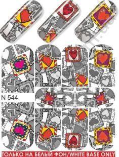 Слайдер-дизайн  N544 (водные наклейки)