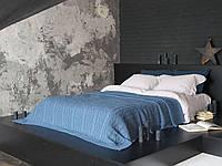 Плед - покрывало вязаное 220x240 BETIRES DOLCE INDIGO (50% хлопок, 50% акрил) синее