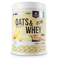 All Nutrition Oats Whey 28% 500g (Ваниль)