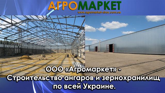 строительство ангаров_строительство зернохранилищ