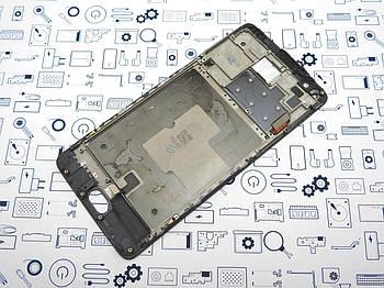 Дисплей One Plus 3T A3010 модуль черный Сервисный оригинал с разборки