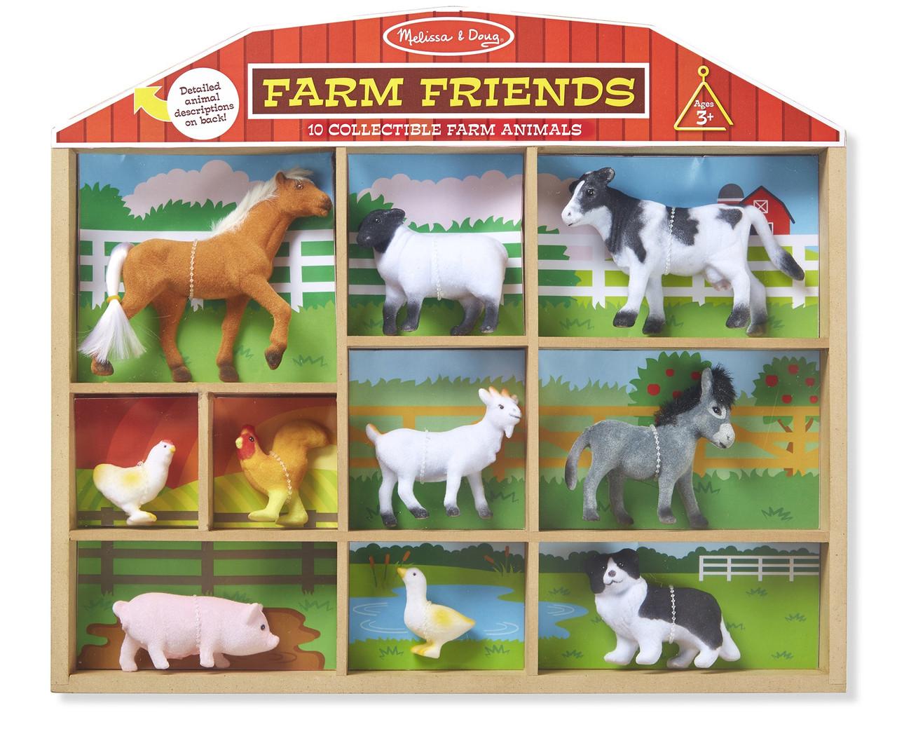 Ігровий набір Фігурки домашніх тварин Melіssa&Doug (MD594)