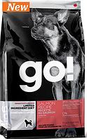 Сухой корм GO! LID Salmon Dog Recipe с лососем для щенков и взрослых собак