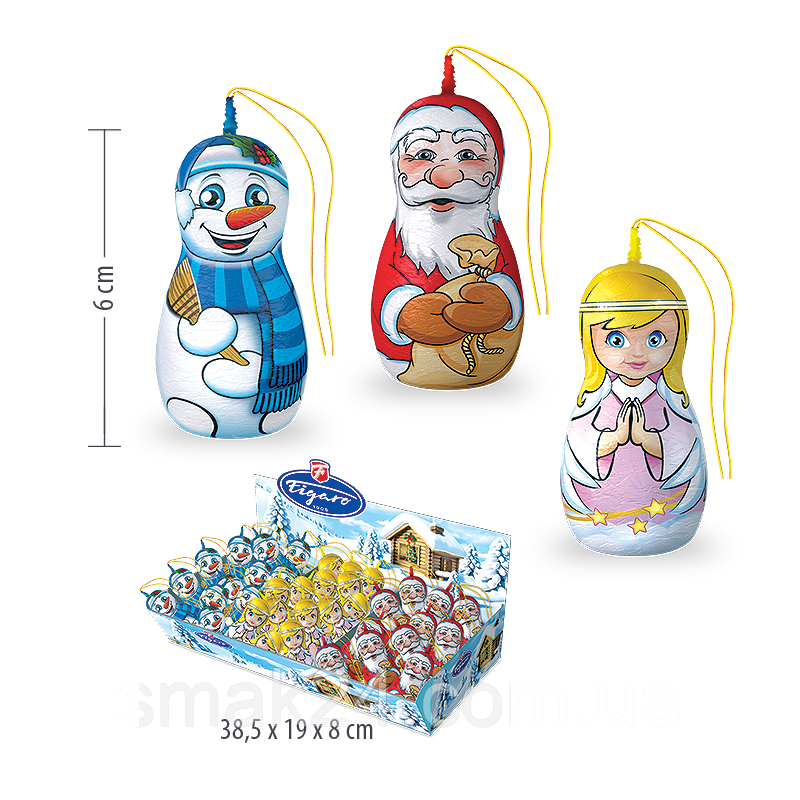 Шоколадный Николайчик Figaro Словакия 16г