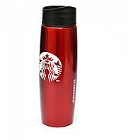 Термос Starbucks 500 мл металлический YSB-Q06 Red #S/O