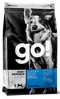 Сухой корм GO! Daily Defence Chicken Dog Recipe для щенков и взрослых собак 34/16 11.34
