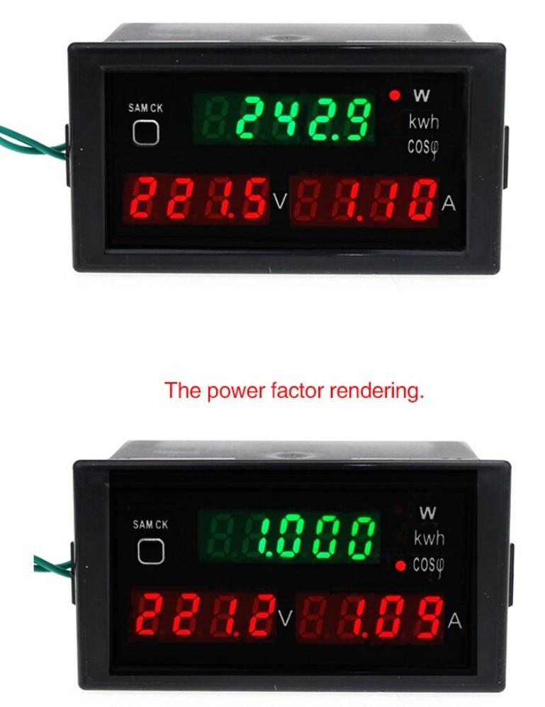 Ваттметр DL69-2047 до 30 КВТ, AC 80-300 V,0-100 A