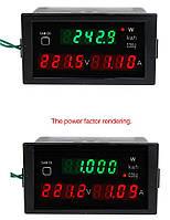 Ваттметр DL69-2047 до 30 КВТ, AC 80-300 V,0-100 A, фото 1