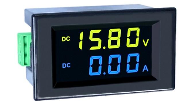 Вольтметр-амперметр D85-3051AG DC 0-600V/0-100A з шунтом