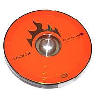 Диск DVD+RW 10 Videx, 4.7Gb, 4x, Bulk Box